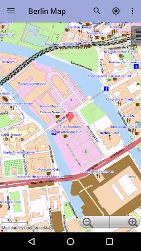 Берлин: Офлайн карта скриншот 3