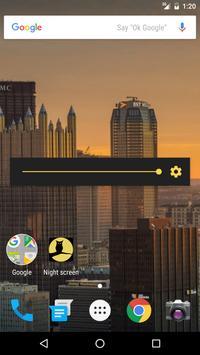 Ночной экран скриншот 1