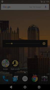 Ночной экран скриншот 2
