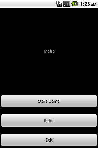 Карточная игра Мафия скриншот 1