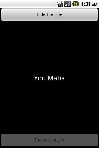 Карточная игра Мафия скриншот 3