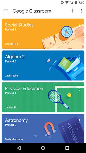 Google Classroom скриншот 1