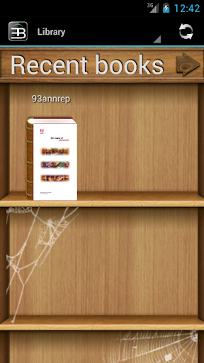 EBookDroid - PDF & DJVU Reader скриншот 1