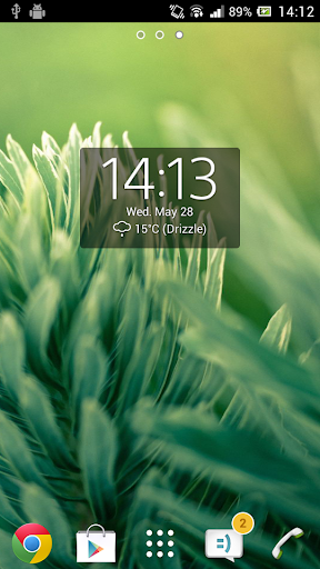Digital Clock Widget Xperia скриншот 4