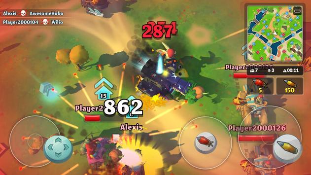 PvPets: Tank Battle Royale скриншот 5