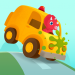 Dinosaur Car - Painting Games for kids