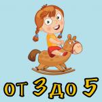 Стихи для детей от 3 до 5