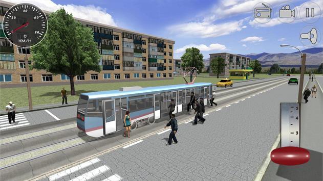 Симулятор трамвая 3D - 2018 скриншот 4