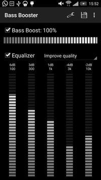 Усилитель баса (Bass Booster) скриншот 1