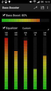 Усилитель баса (Bass Booster) скриншот 2
