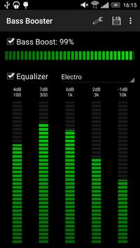 Усилитель баса (Bass Booster) скриншот 4