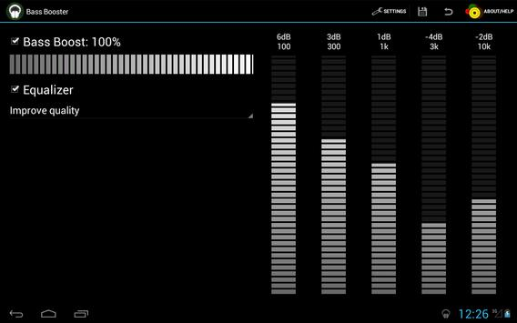 Усилитель баса (Bass Booster) скриншот 5