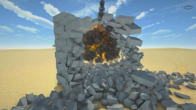 Разрушительная физика симулятор 3д разрушений скриншот 1