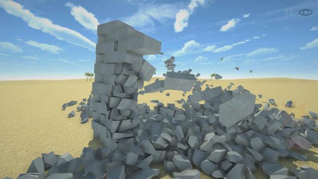 Разрушительная физика симулятор 3д разрушений скриншот 2