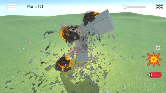 Разрушительная физика симулятор 3д разрушений скриншот 3