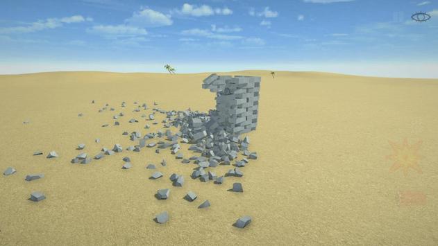 Разрушительная физика симулятор 3д разрушений скриншот 5