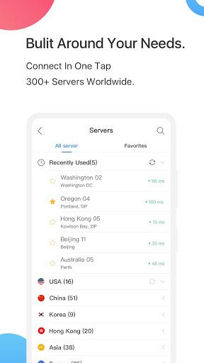 FlyVPN скриншот 3
