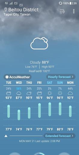 ASUS Weather скриншот 1