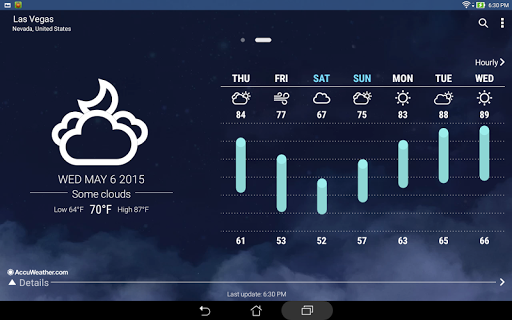 ASUS Weather скриншот 5