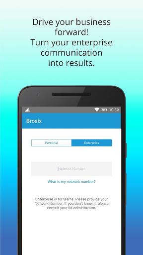 Brosix скриншот 3