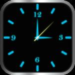 Светящиеся Часы Комод (синий)