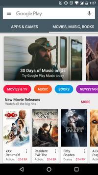 Google Play Store скриншот 3