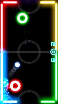 Glow Hockey скриншот 1