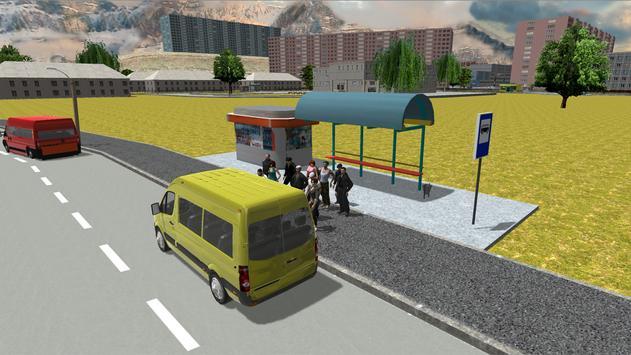 Симулятор маршрутки 2017 скриншот 5
