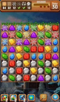 Самоцветы или кристаллы? Три в ряд скриншот 4