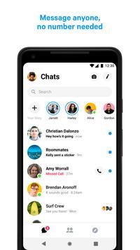 Facebook Messenger скриншот 1