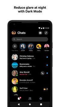 Facebook Messenger скриншот 2