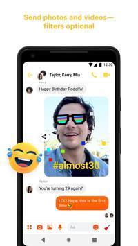 Facebook Messenger скриншот 5