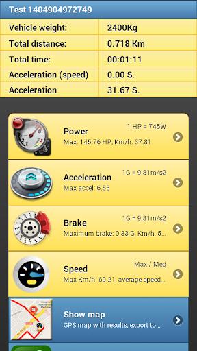 Car Performance Meter скриншот 4