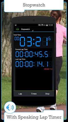 Цифровой таймер и секундомер скриншот 1