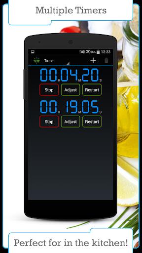Цифровой таймер и секундомер скриншот 2
