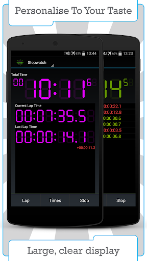 Цифровой таймер и секундомер скриншот 4