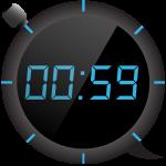Цифровой таймер и секундомер
