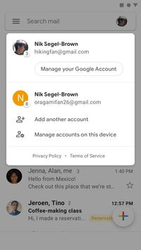 Gmail скриншот 2