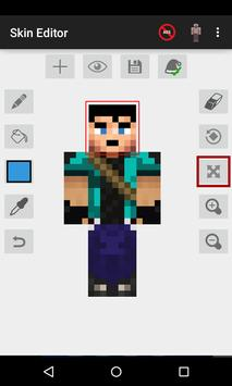 Skin Editor for Minecraft скриншот 1