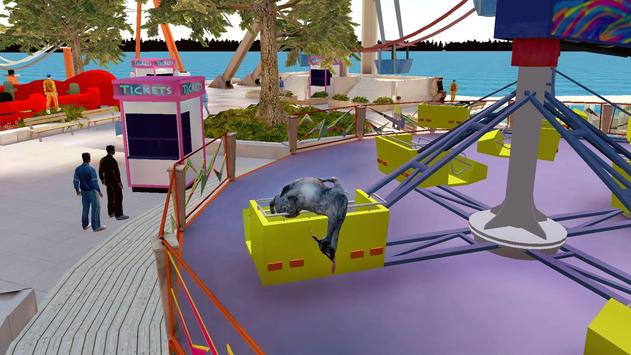 Goat Simulator Free скриншот 2