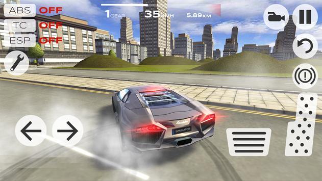 Extreme Car Driving Simulator скриншот 1