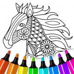 Книжка-раскраска: Животные