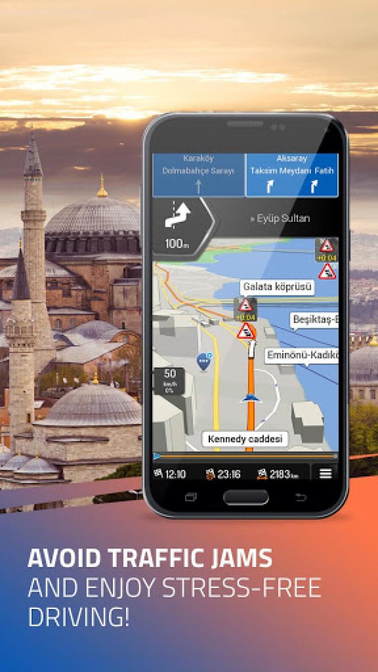 iGO Navigation скриншот 1