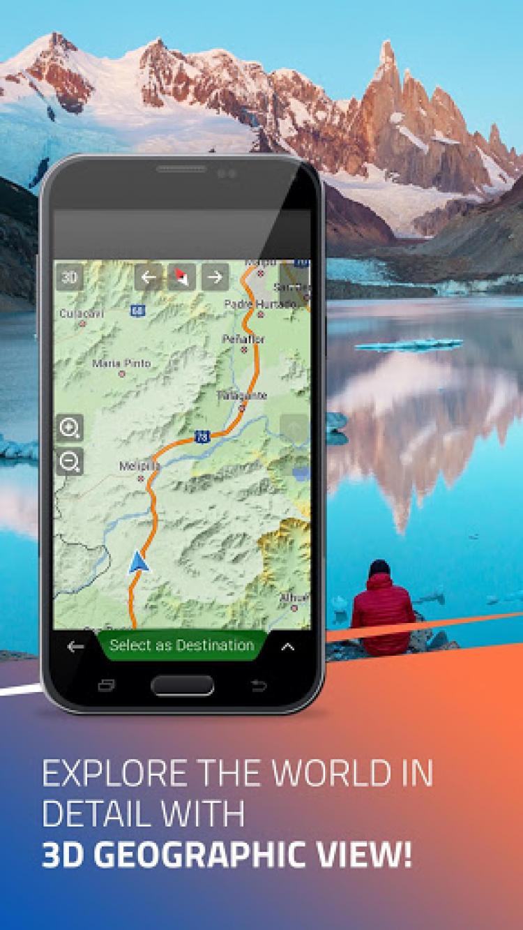 iGO Navigation скриншот 2