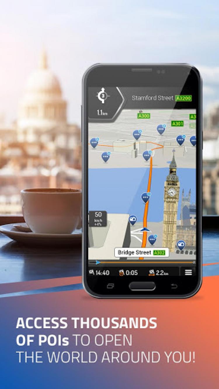 iGO Navigation скриншот 4