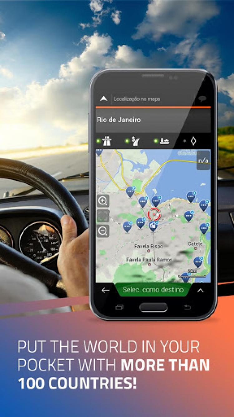 iGO Navigation скриншот 5