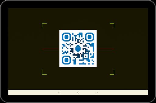 QR и считыватель штрих-кодов скриншот 2